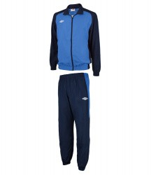 Костюм спорт. Umbro Uniform Training Woven Suit син/т.син/бел 463013/791