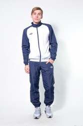 Костюм спорт. Umbro Uniform Training Woven Suit т.син/бел/бел 463013/911